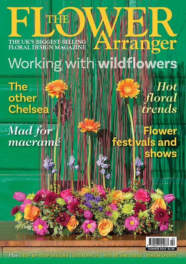 nafas flower arranger magazine summer 2018