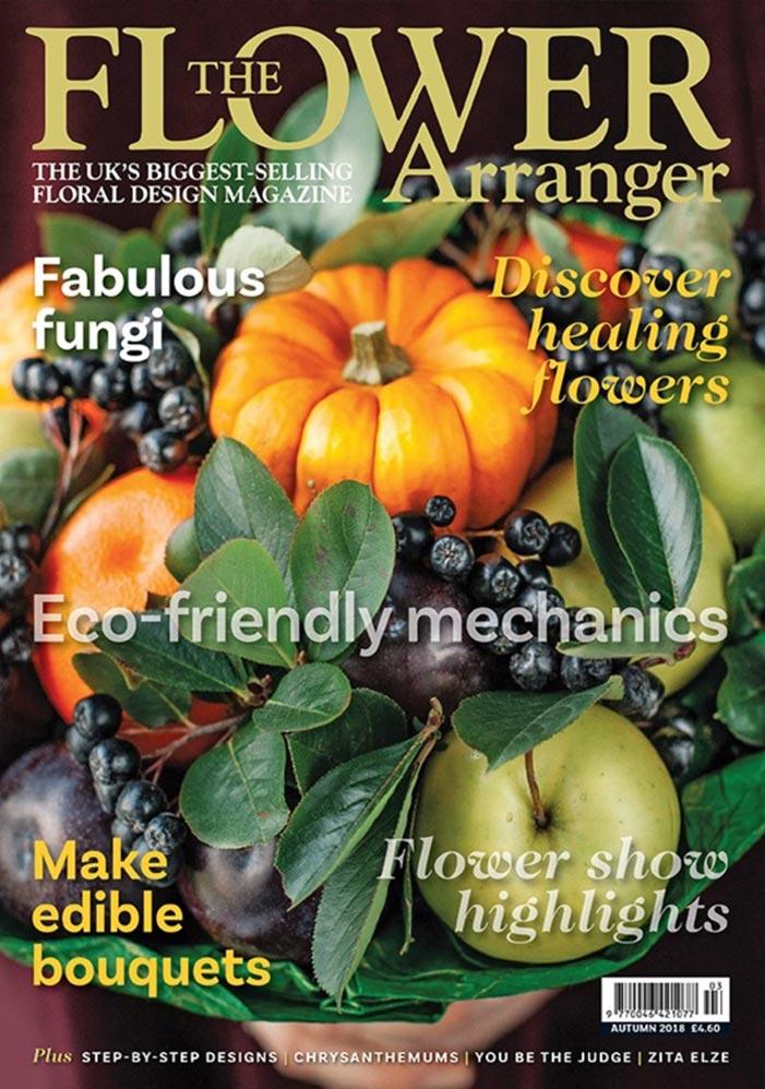 flower arranger magazine autumn edition