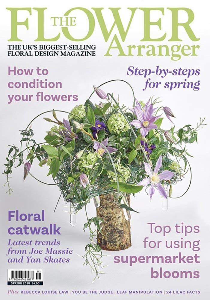 flower arranger magazine spring edition