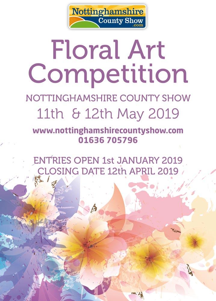 NCC floral art May 2019