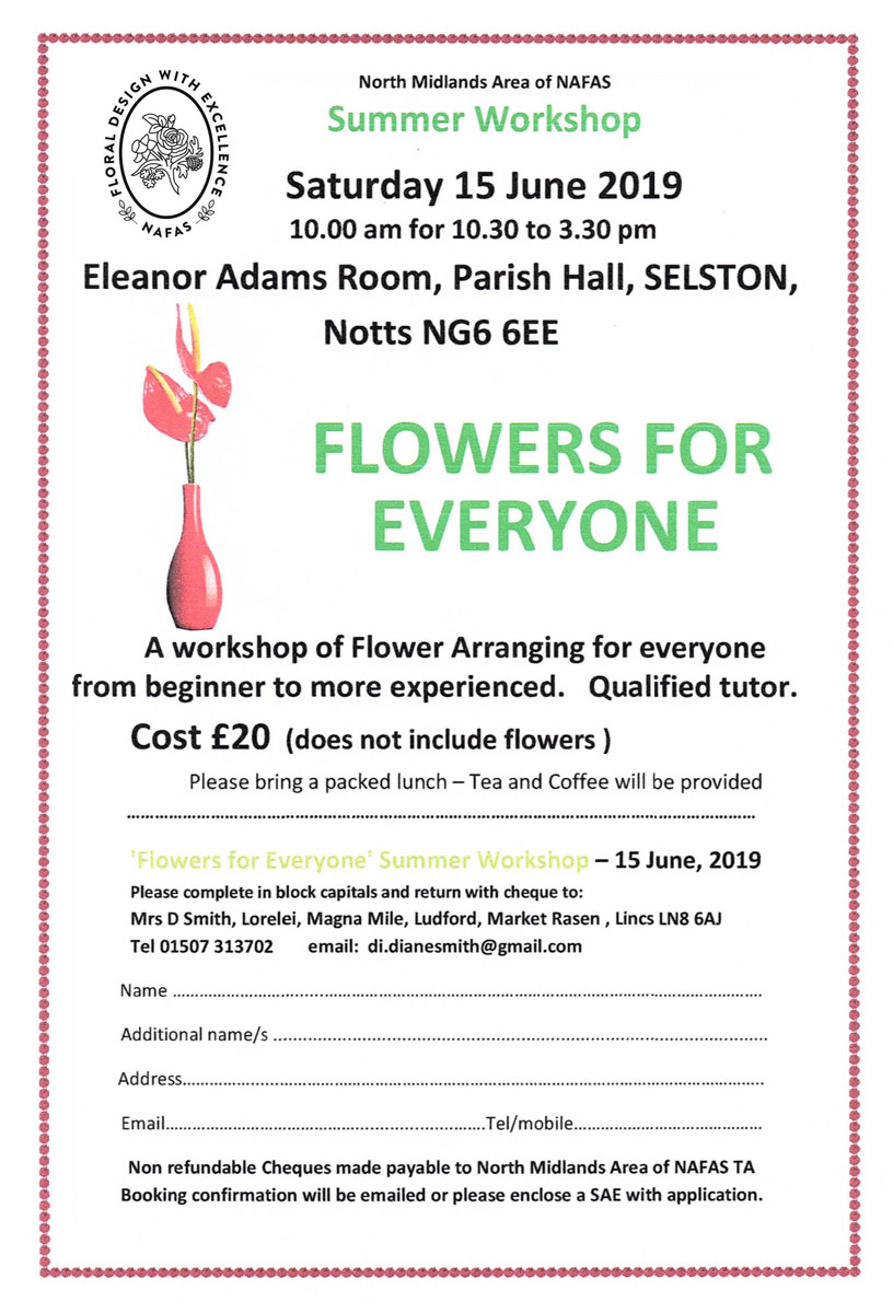 flowers for everyone floral workshop